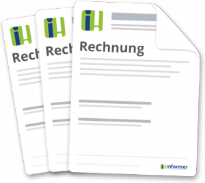 Kostenlose Rechnungsvorlage! Muster für Rechnung! - InformerOnline