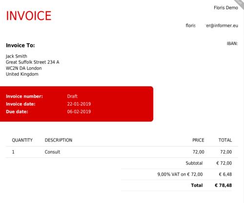 Online Invoicing InformerOnline