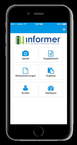 InformerOnline App Dashboard