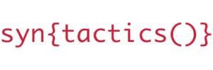 Syntactics Development