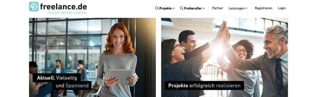 Informeronline empfiehlt die Jobbörse freelance