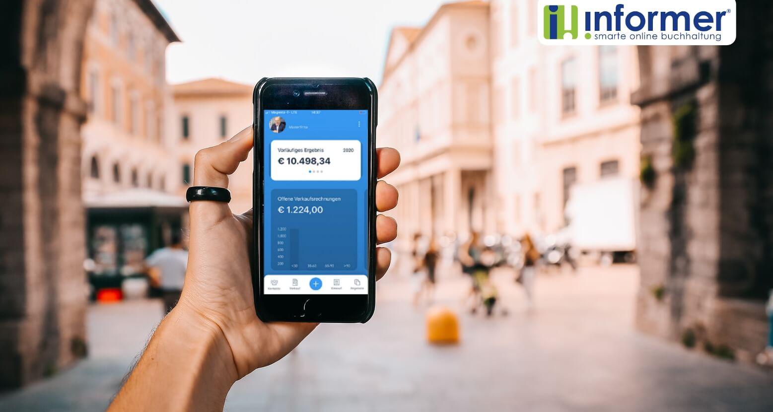 Überall einsicht mit der InformerOnline App