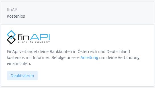 finAPI App Informer