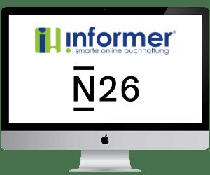 N26 online Buchhaltung